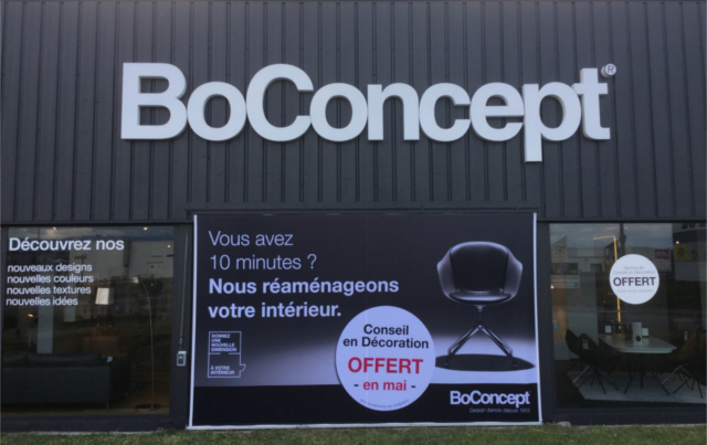 BOCONCEPT nominé BIM d'OR
